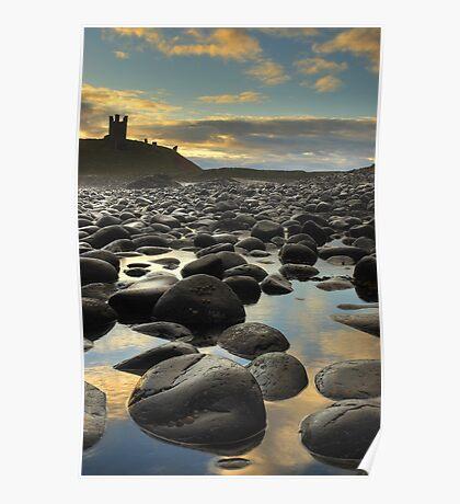 Dunstanburgh Castle, Northumberland Poster