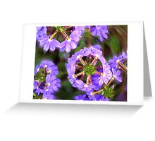 floral perception Greeting Card