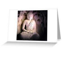 Meditating Buddha, Bali Greeting Card
