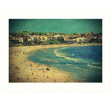 Do you remember that summer in Bondi? Art Print