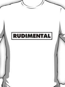 Rudimental UK Drum'n'bass DJ T-Shirt