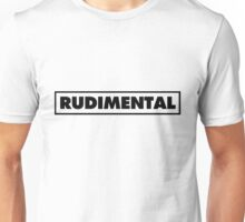 Rudimental UK Drum'n'bass DJ Unisex T-Shirt