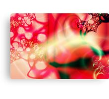 Ruby Rush Canvas Print