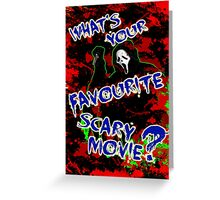 What's Your Favourite? Greeting Card