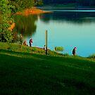 "City Life - ""Sunday Fishing"" p.2 by Denis Molodkin"