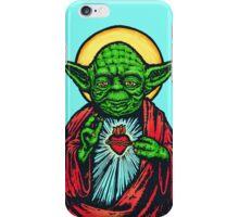 Holy Jedi Master iPhone Case/Skin