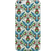 Bluebird In The Strawberry Patch  iPhone Case/Skin