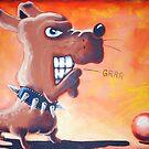 Grrr Dog's Ball by etourist