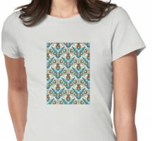 Bluebird In The Strawberry Patch  Womens Fitted T-Shirt