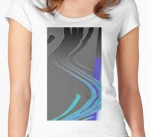 Scannography #3 Women's Fitted Scoop T-Shirt
