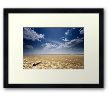 Infinity over and over Framed Print