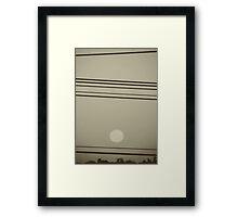 Chasing Suns Framed Print