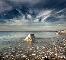 Llandulas Beach, Old Colwyn, North Wales. by maxblack