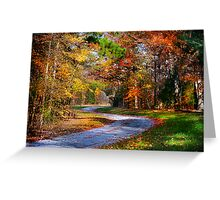 """A Road Less Traveled"" Greeting Card"
