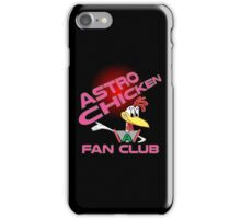 Astro Chicken Fan Club iPhone Case/Skin