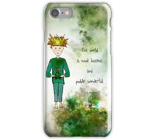 Ginkelmier Land ~ Ginkelmier and Frog ~ Mud luscious and Puddle Wonderful iPhone Case/Skin