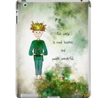 Ginkelmier Land ~ Ginkelmier and Frog ~ Mud luscious and Puddle Wonderful iPad Case/Skin