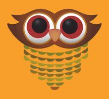 Vintage Owl by pepperdoll