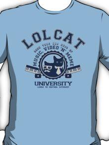 Lol Cat University blue T-Shirt