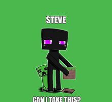 Steve, can I take this? by PollaDorada