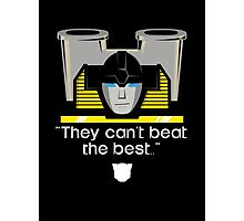 """Transformers - """"Sunstreaker (with Motto)"""" Photographic Print"""