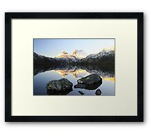 Cold Cradle III Framed Print