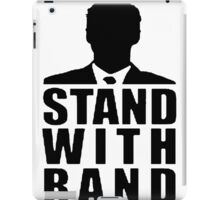 Stand With Rand Suit [Black] iPad Case/Skin