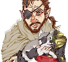Punished Snake and Diamond Dog by megtalgearsalad