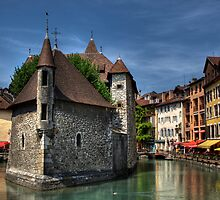 The Old Jail, Annecy, France by Beth A