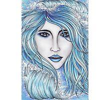 Girl & The Sea Photographic Print