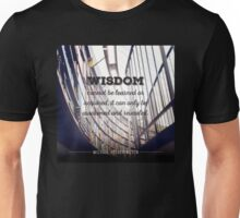 Wisdom Can't be Learned Unisex T-Shirt