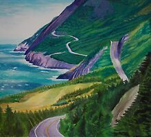 Spring on the Cabot Trail by Carla McAfee