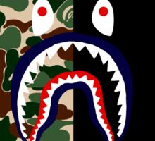 Bape Camo & Shark Sticker