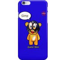 Geek Girl - SwearBear - GIMP iPhone Case/Skin