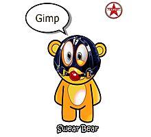 Geek Girl - SwearBear - GIMP Photographic Print