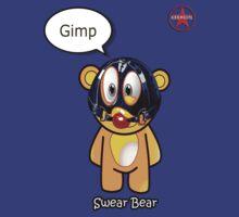 Geek Girl - SwearBear - GIMP by AdeGee