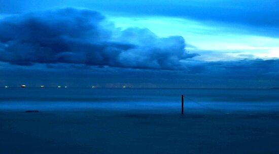 Aqua Storm by Nichole Lea