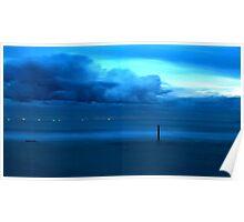 Aqua Storm Poster