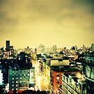 Greenwich Village Skyline by cormacphelan