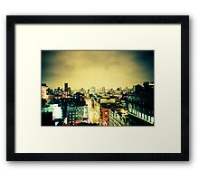 Greenwich Village Skyline Framed Print