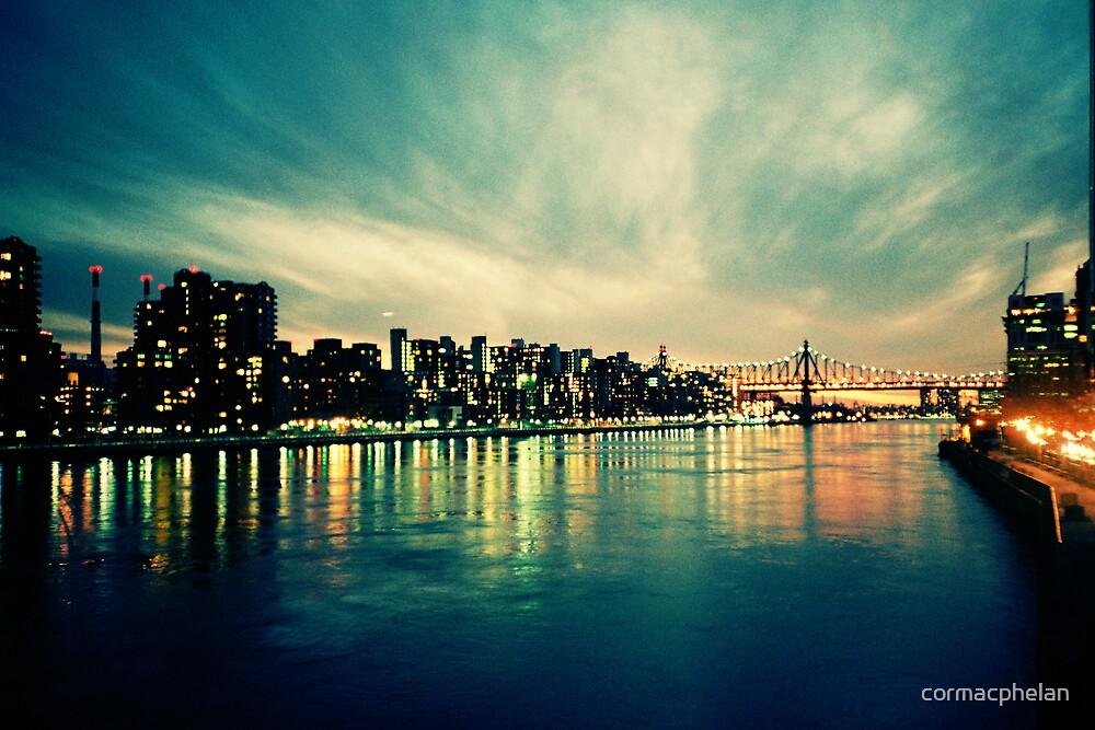Hudson Cityscape by cormacphelan