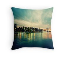 Hudson Cityscape Throw Pillow