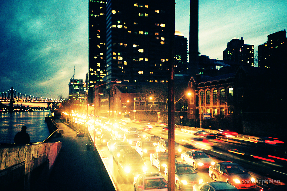 Manhattan Freeway by cormacphelan