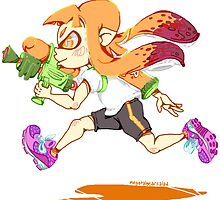 Girl Inkling by megtalgearsalad