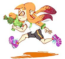Girl Inkling Photographic Print