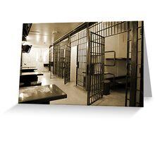 General Population, Cornwall Jail Greeting Card