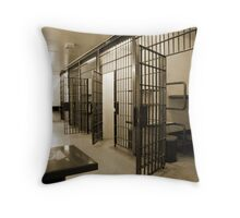 General Population, Cornwall Jail Throw Pillow