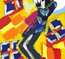 Trumpet Man  by myleshuntart