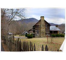 Smoky Mountain Village Poster