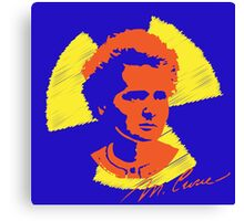 Frock Star Marie Curie Canvas Print